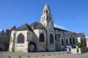 Notre Dame La Grande de Poitiers. Photo de S Cloâtre (CC-BY-NC)